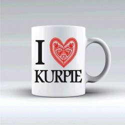 kubek I love Kurpie