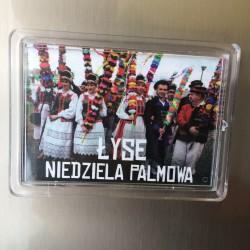 magnes akrylowy z Łysych Niedziela Palmowa