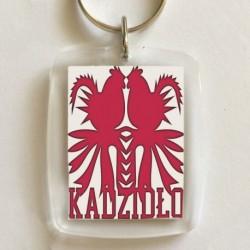 brelok kadzidło koguty czerwone