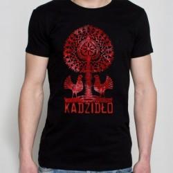 koszulka czarna kadzidło leluja mozaika