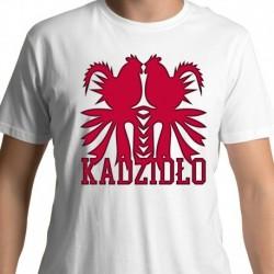 koszulka kadzidło koguty czerwone