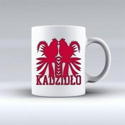 kubek kadzidło koguty czerwone