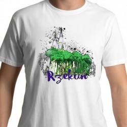 koszulka Rzekuń akwarela