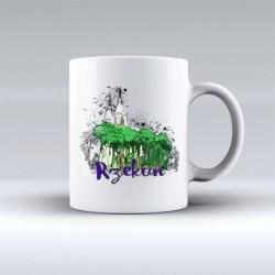 kubek Rzekuń akwarela