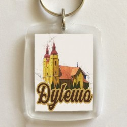 brelok kościół Dylewo