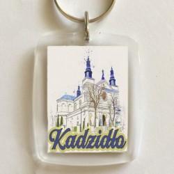 brelok kościół Kadzidło