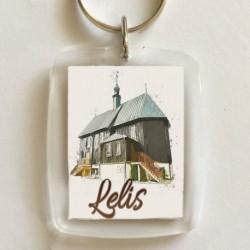 brelok kościół Lelis