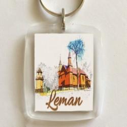 brelok kościół Leman
