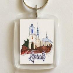 brelok kościół Lipinki