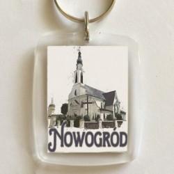 brelok kościół Nowogród