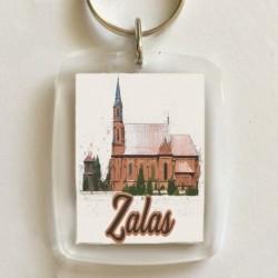 brelok kościół Zalas