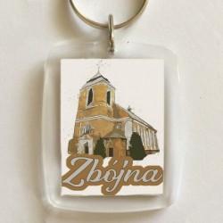 brelok kościół Zbójna