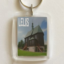 brelok Lelis kościół