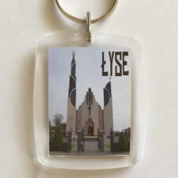 brelok Łyse kościół