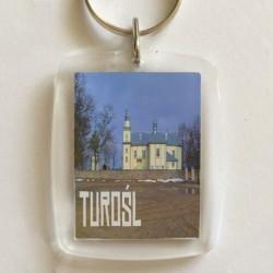 brelok Turośl kościół (2)