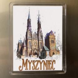 magnes kościół Myszyniec