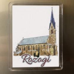magnes kościół Rozogi