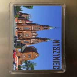 magnes Myszyniec kościół (front)