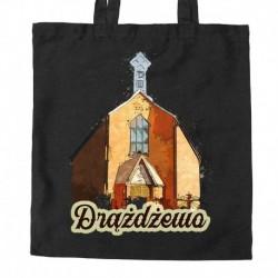 torba Drążdżewo kościół akwarela