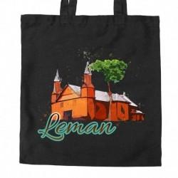 torba Leman kościół akwarela