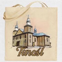 torba Turośl kościół