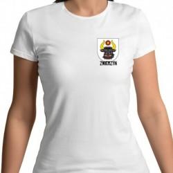 koszulka damska - herb gmina Zwierzyn
