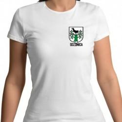 koszulka damska - herb Gozdnica