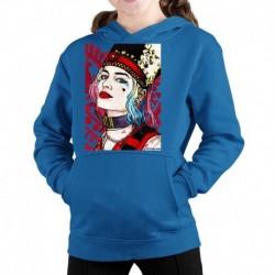 bluza z kapturem KD-N sKURPieni Harley Quinn