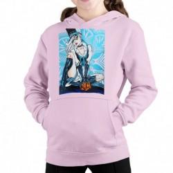 bluza z kapturem KD-R sKURPieni Black Cat