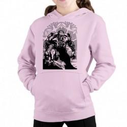 bluza z kapturem KD-R sKURPieni Wyrak czarny
