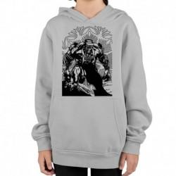 bluza z kapturem KD-SZ sKURPieni Wyrak czarny