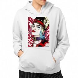 bluza z kapturem KK-B sKURPieni Harley Quinn