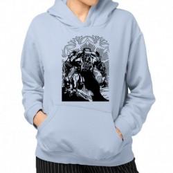 bluza z kapturem KK-JN sKURPieni Wyrak czarny