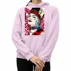 bluza z kapturem KK-R sKURPieni Harley Quinn