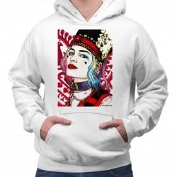 bluza z kapturem KM-B sKURPieni Harley Quinn