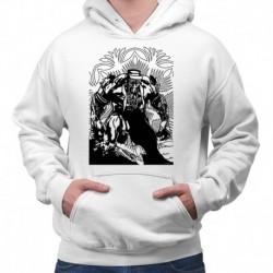 bluza z kapturem KM-B sKURPieni Wyrak czarny