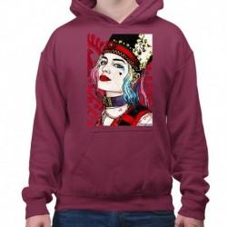 bluza z kapturem KM-BU sKURPieni Harley Quinn