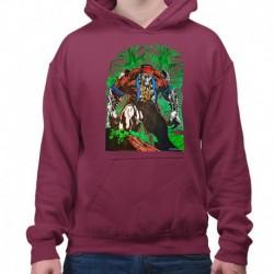 bluza z kapturem KM-BU sKURPieni Wyrak
