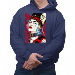 bluza z kapturem KM-GR sKURPieni Harley Quinn