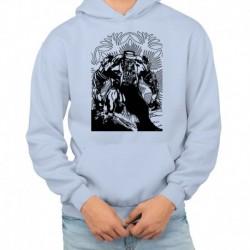 bluza z kapturem KM-JN sKURPieni Wyrak czarny