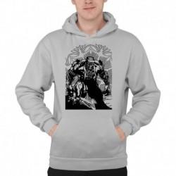 bluza z kapturem KM-SZ sKURPieni Wyrak czarny