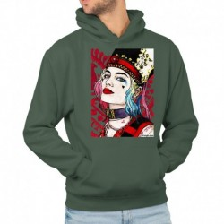 bluza z kapturem KM-ZB sKURPieni Harley Quinn