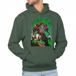 bluza z kapturem KM-ZB sKURPieni Wyrak