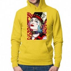 bluza z kapturem KM-Ż sKURPieni Harley Quinn