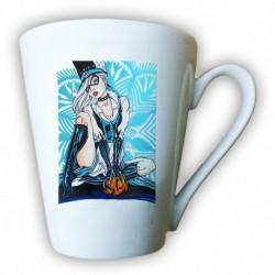 kubek latte sKURPieni Black Cat