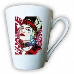 kubek latte sKURPieni Harley Quinn