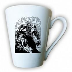 kubek latte sKURPieni Wyrak czarny