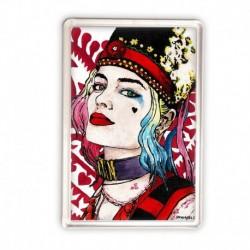 magnes akrylowy sKURPieni Harley Quinn