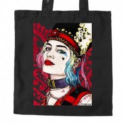 torba czarna sKURPieni Harley Quinn